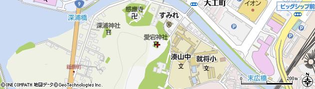 愛宕神社周辺の地図