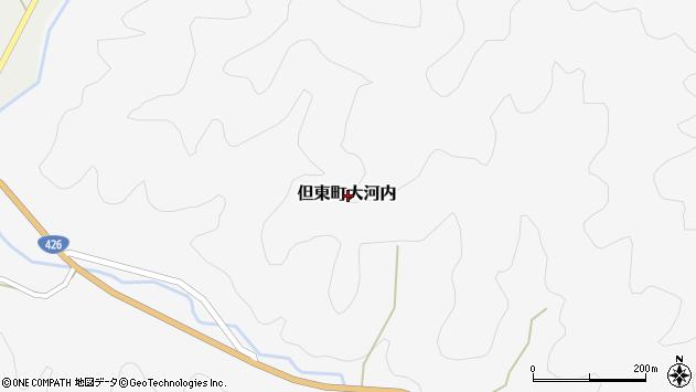 〒668-0372 兵庫県豊岡市但東町大河内の地図