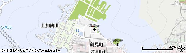 善照寺周辺の地図