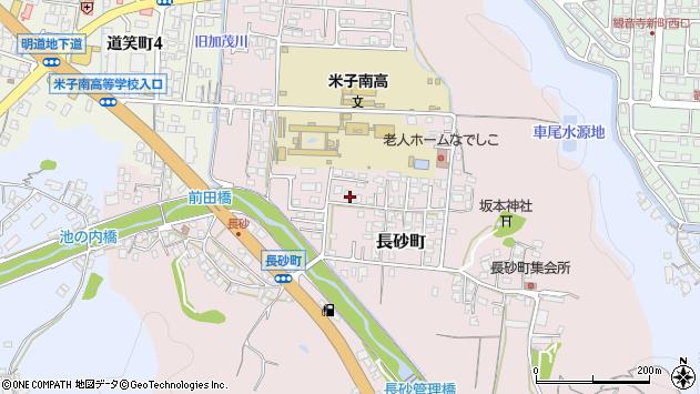 〒683-0033 鳥取県米子市長砂町の地図