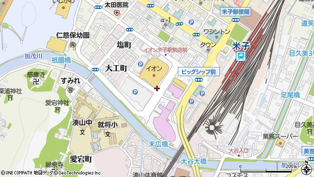 〒683-0043 鳥取県米子市末広町の地図