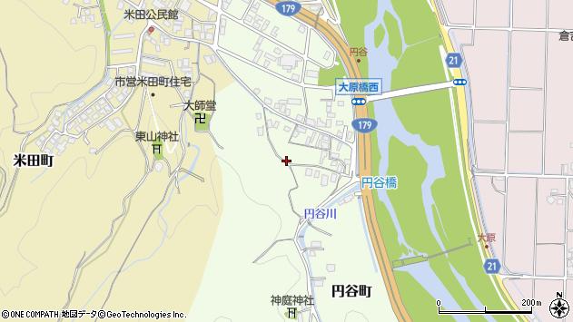 〒682-0813 鳥取県倉吉市円谷町の地図