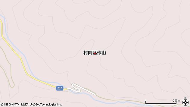 〒667-1331 兵庫県美方郡香美町村岡区作山の地図