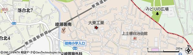神奈川県綾瀬市上土棚北3丁目周辺の地図