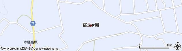山梨県南都留郡富士河口湖町富士ヶ嶺周辺の地図