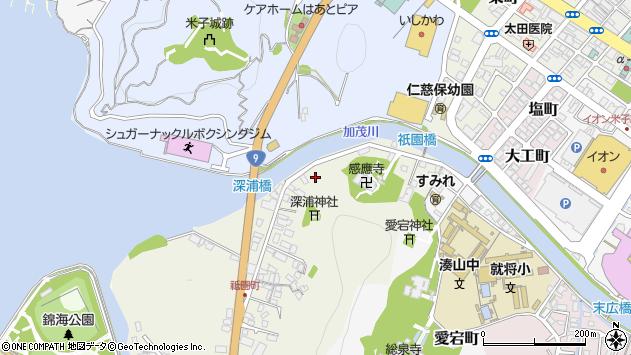 〒683-0047 鳥取県米子市祇園町の地図