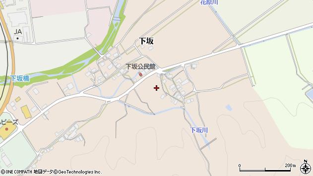 〒680-0426 鳥取県八頭郡八頭町下坂の地図