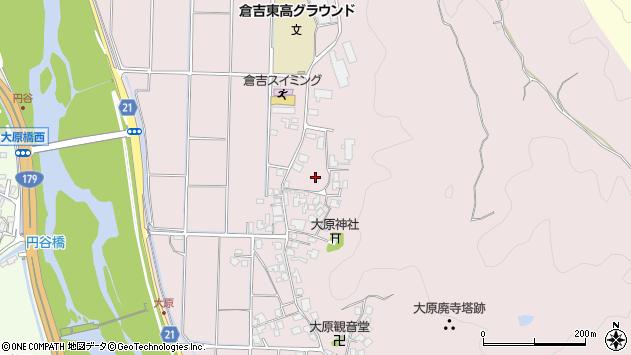 〒682-0034 鳥取県倉吉市大原の地図