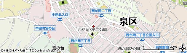 西が岡薬局周辺の地図
