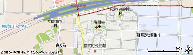 専琳寺周辺の地図