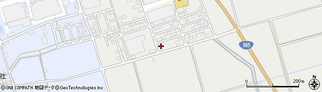 滋賀県長浜市新三田周辺の地図