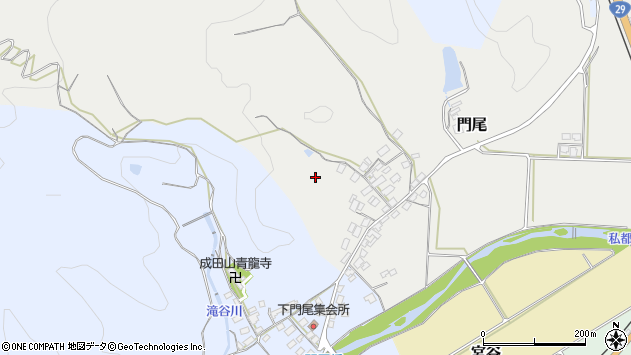 〒680-0422 鳥取県八頭郡八頭町門尾の地図