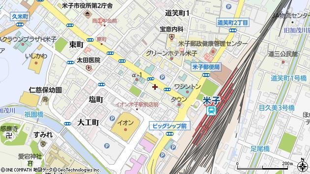〒683-0053 鳥取県米子市明治町の地図