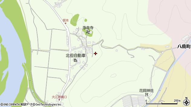 〒667-0013 兵庫県養父市八鹿町坂本の地図