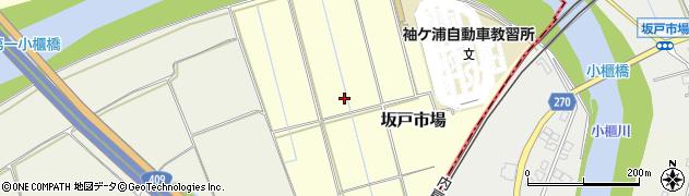 千葉県木更津市坂戸市場周辺の地図