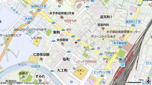 〒683-0041 鳥取県米子市茶町の地図