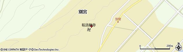転法輪寺周辺の地図