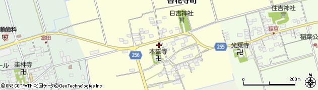 滋賀県長浜市香花寺町周辺の地図