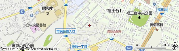 東京ガス社宅周辺の地図