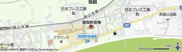 岐阜県加茂郡坂祝町周辺の地図