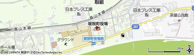 岐阜県坂祝町(加茂郡)周辺の地図