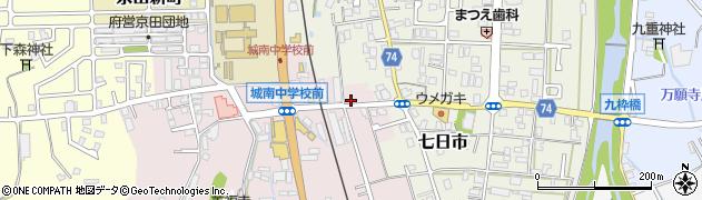 京都府舞鶴市京田中川周辺の地図