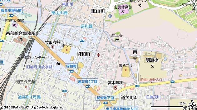 〒683-0032 鳥取県米子市陽田町の地図