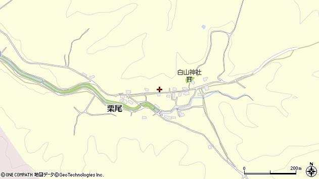 〒682-0033 鳥取県倉吉市栗尾の地図