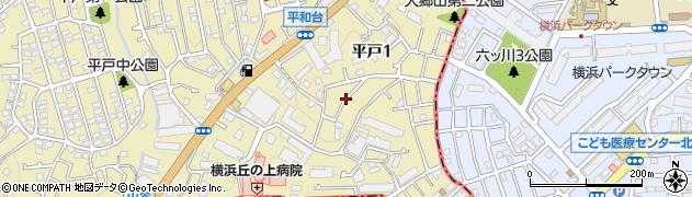 東燃ゼネラル石油平和台アパート周辺の地図