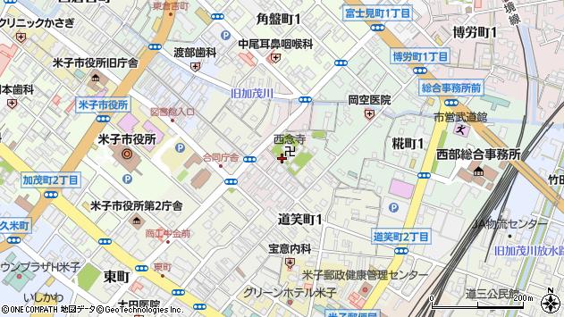 〒683-0063 鳥取県米子市法勝寺町の地図