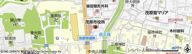 千葉県茂原市周辺の地図