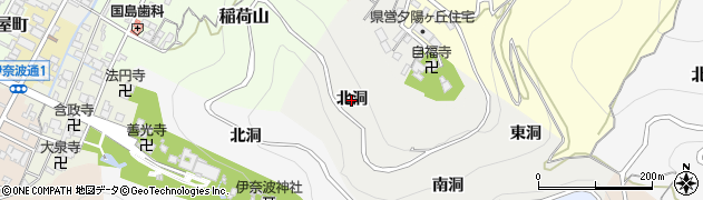 岐阜県岐阜市藤右衛門(北洞)周辺の地図