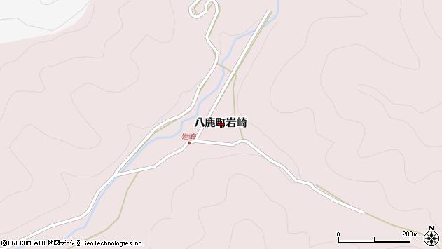 〒667-0014 兵庫県養父市八鹿町岩崎の地図