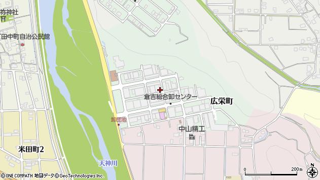〒682-0035 鳥取県倉吉市広栄町の地図