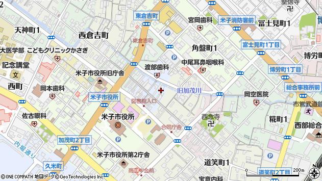 〒683-0061 鳥取県米子市四日市町の地図