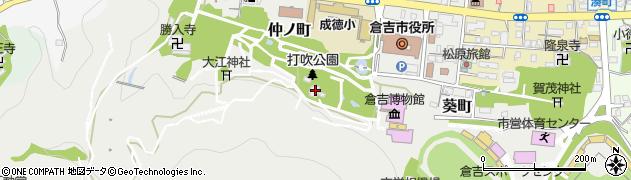 鎮霊神社周辺の地図