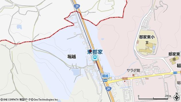 〒680-0423 鳥取県八頭郡八頭町堀越の地図