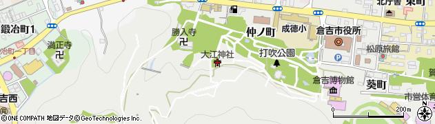 大江神社周辺の地図