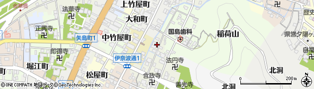 岐阜県岐阜市新桜町周辺の地図