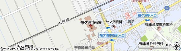 千葉県袖ケ浦市周辺の地図