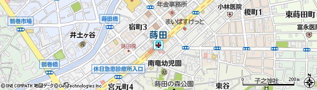 神奈川県横浜市南区周辺の地図