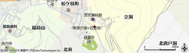 岐阜県岐阜市夕陽丘周辺の地図