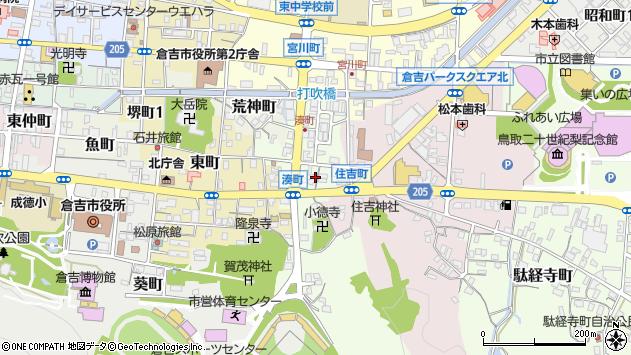 〒682-0882 鳥取県倉吉市湊町の地図
