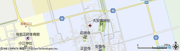 滋賀県長浜市安養寺町周辺の地図