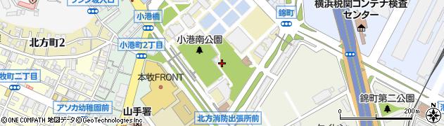 神奈川県横浜市中区本牧十二天周辺の地図