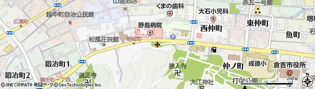倉吉神社周辺の地図