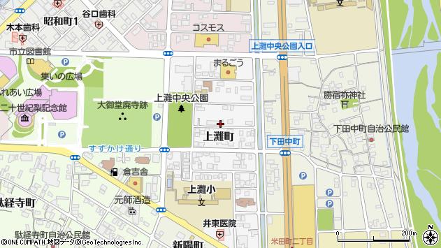 〒682-0811 鳥取県倉吉市上灘町の地図