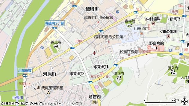 〒682-0866 鳥取県倉吉市広瀬町の地図