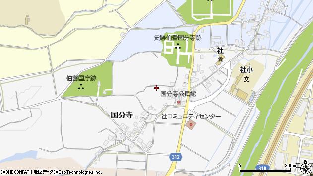 〒682-0943 鳥取県倉吉市国分寺の地図