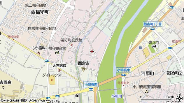 〒682-0922 鳥取県倉吉市福守町の地図